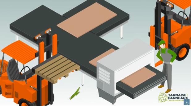 Tarnaise des Panneaux ejemplo de video de fábrica