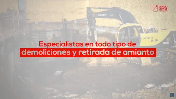 Video de producto Demoliciones Coruña