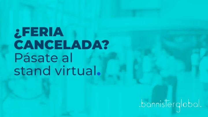 ¿Feria cancelada? Pásate al stand virtual