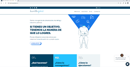 modo web Bannister Global