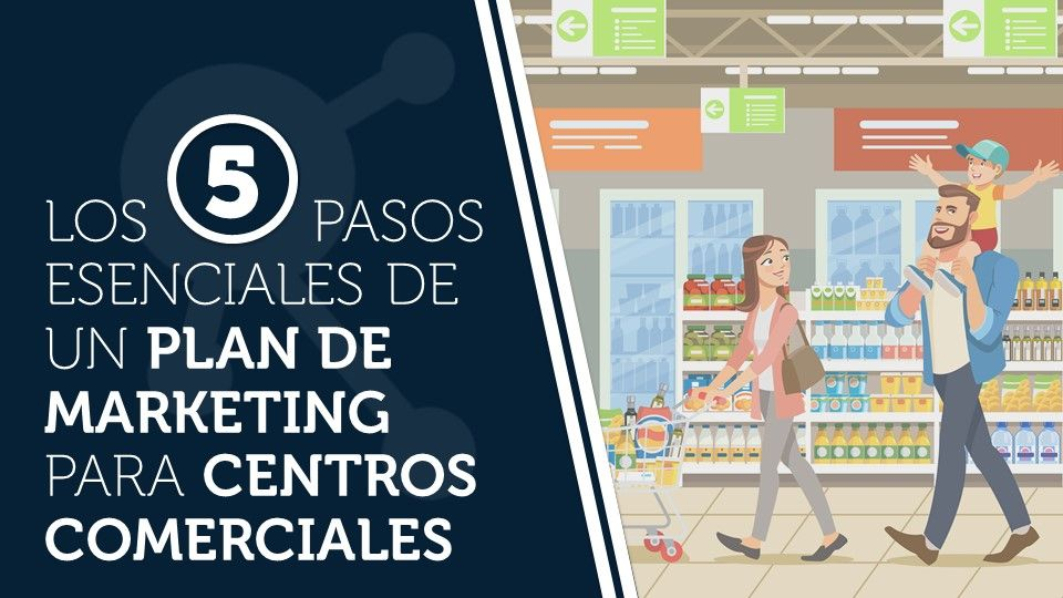 Los 5 pasos esenciales de un plan de marketing para centros comerciales
