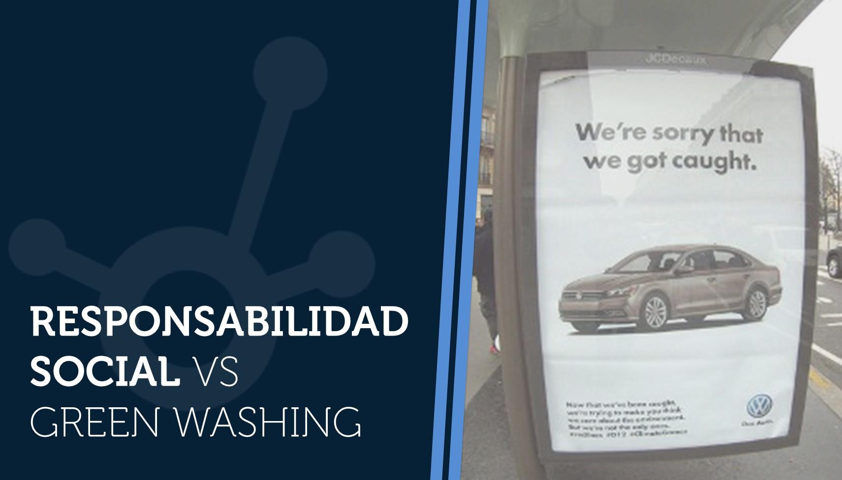 Responsabilidad Social vs Green Washing